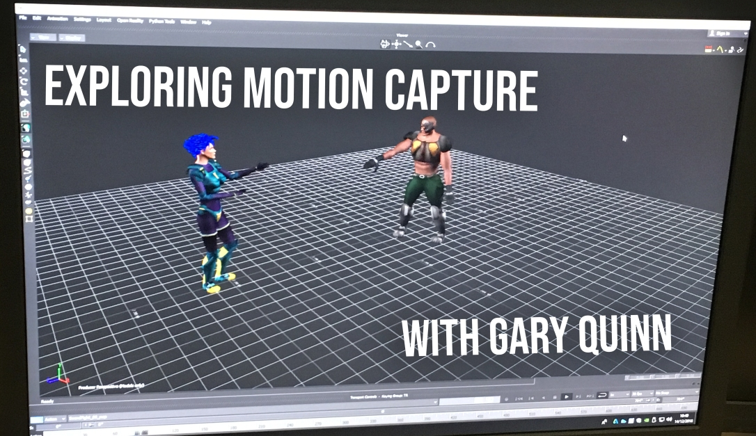 Podcast: Exploring Motion Capture Right Here in Teesside
